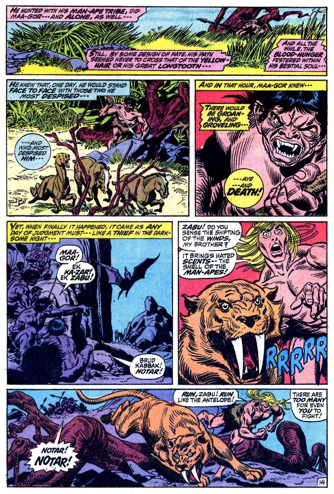 Read online Astonishing Tales (1970) comic -  Issue #11 - 15