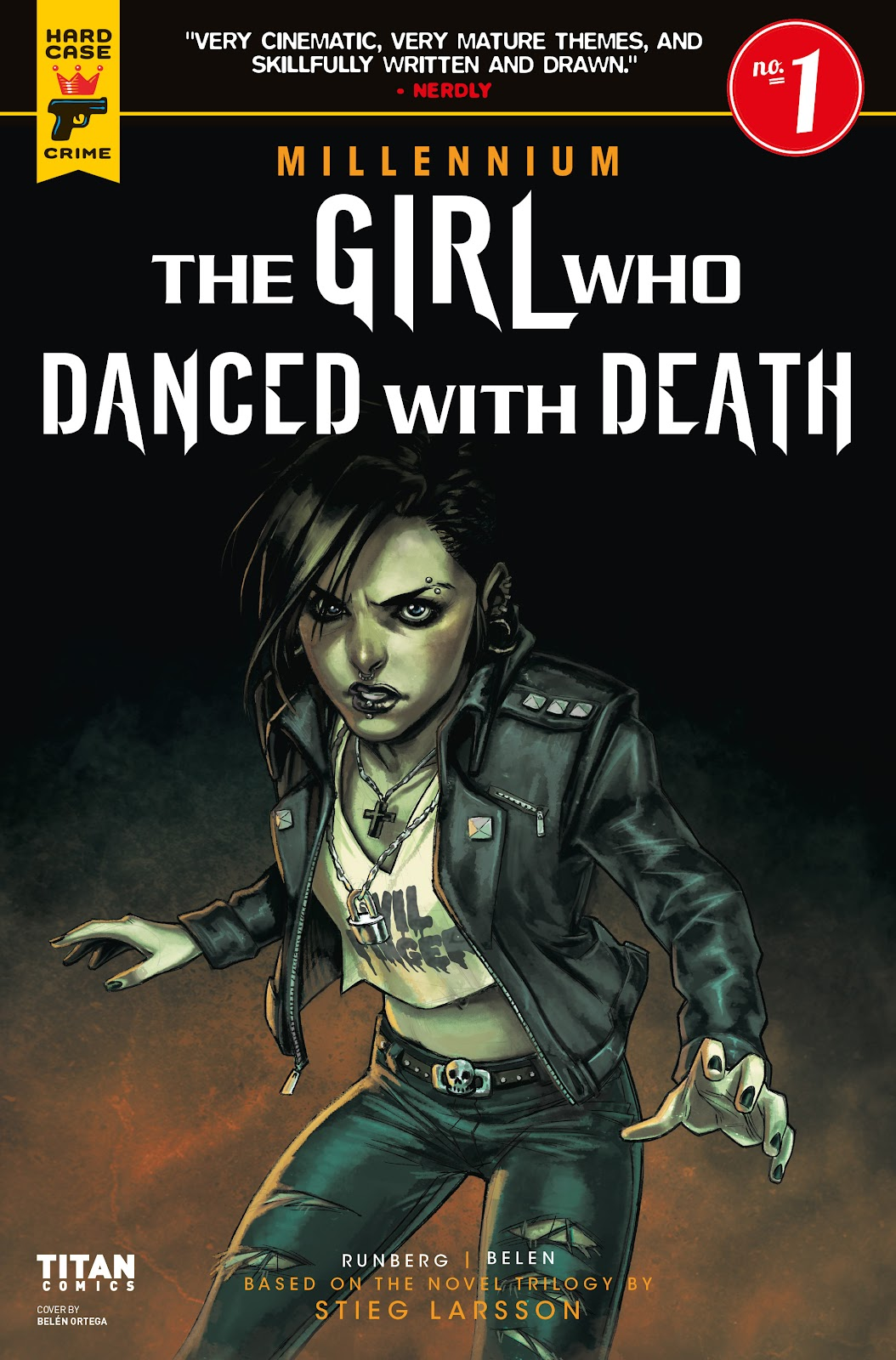 Read online Millennium: The Girl Who Danced With Death comic -  Issue #1 - 2