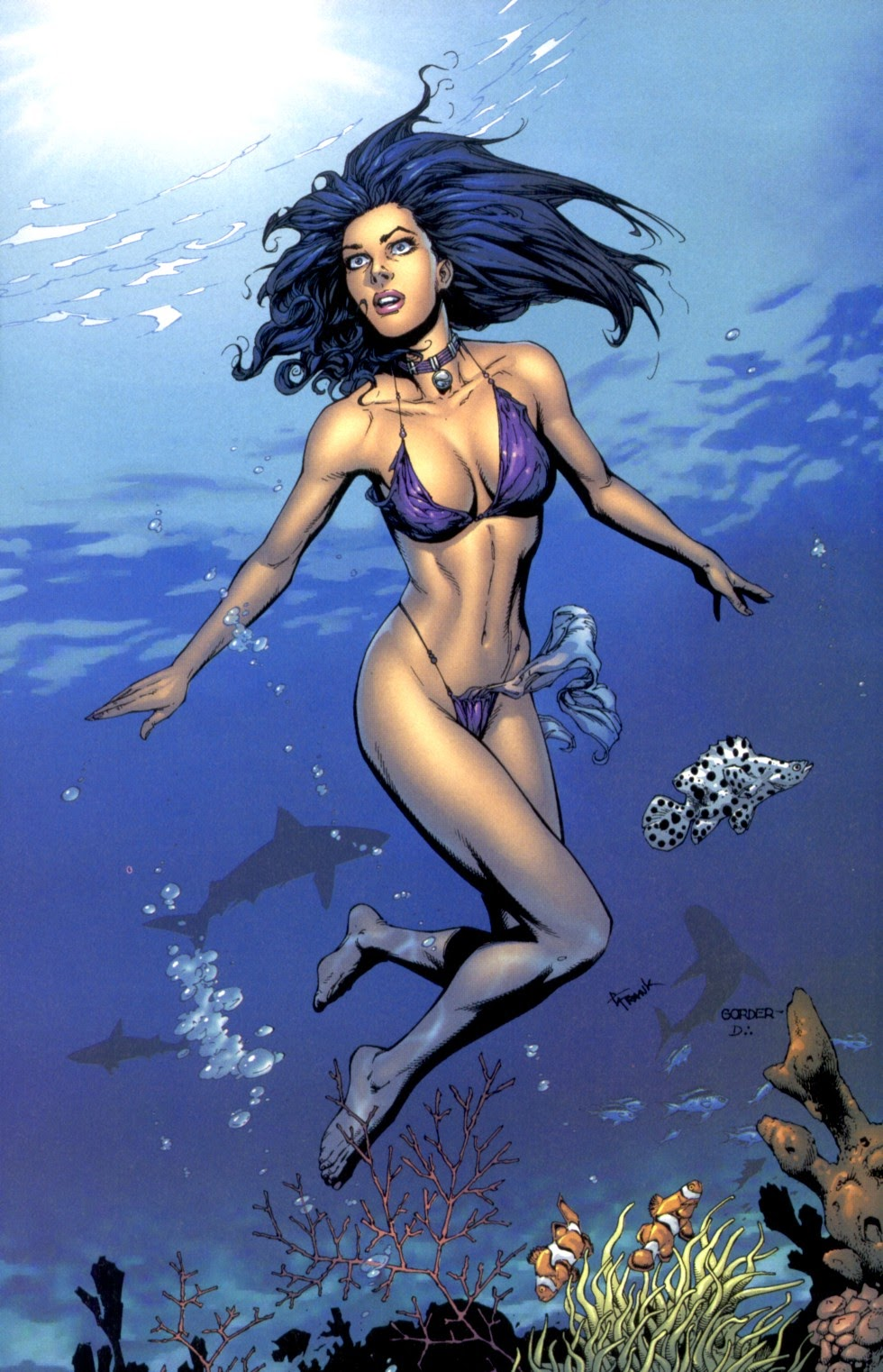 Read online Fathom Swimsuit Special comic -  Issue #2 - 7