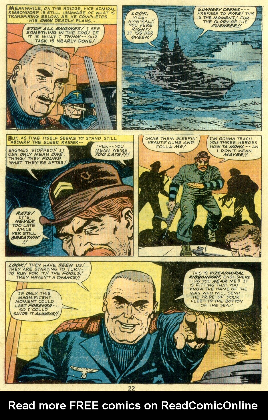 Read online Sgt. Fury comic -  Issue #128 - 24