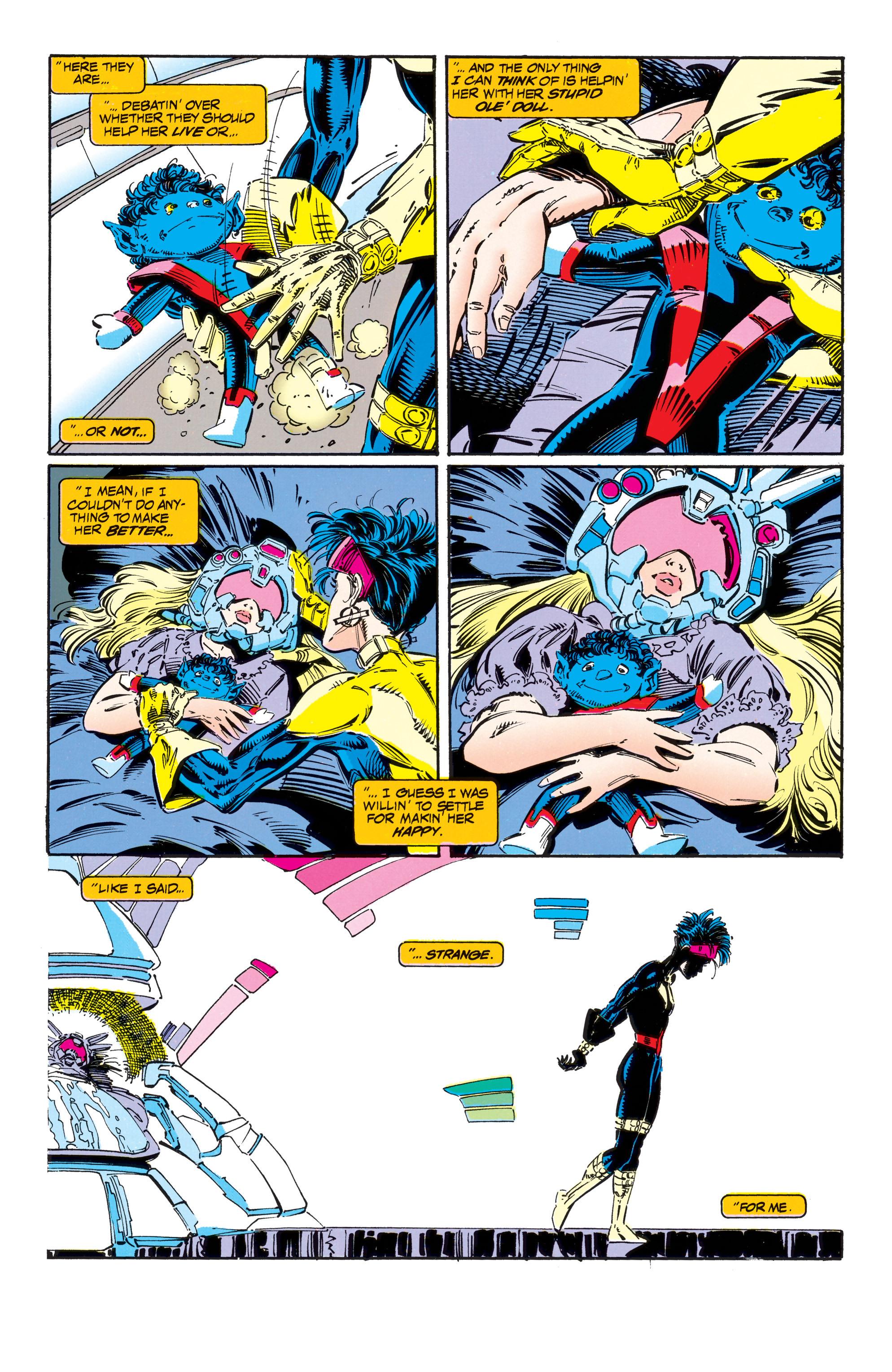 Read online Uncanny X-Men (1963) comic -  Issue #303 - 17