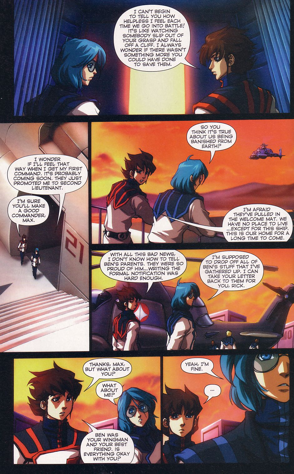 Read online Robotech: Love and War comic -  Issue #5 - 8