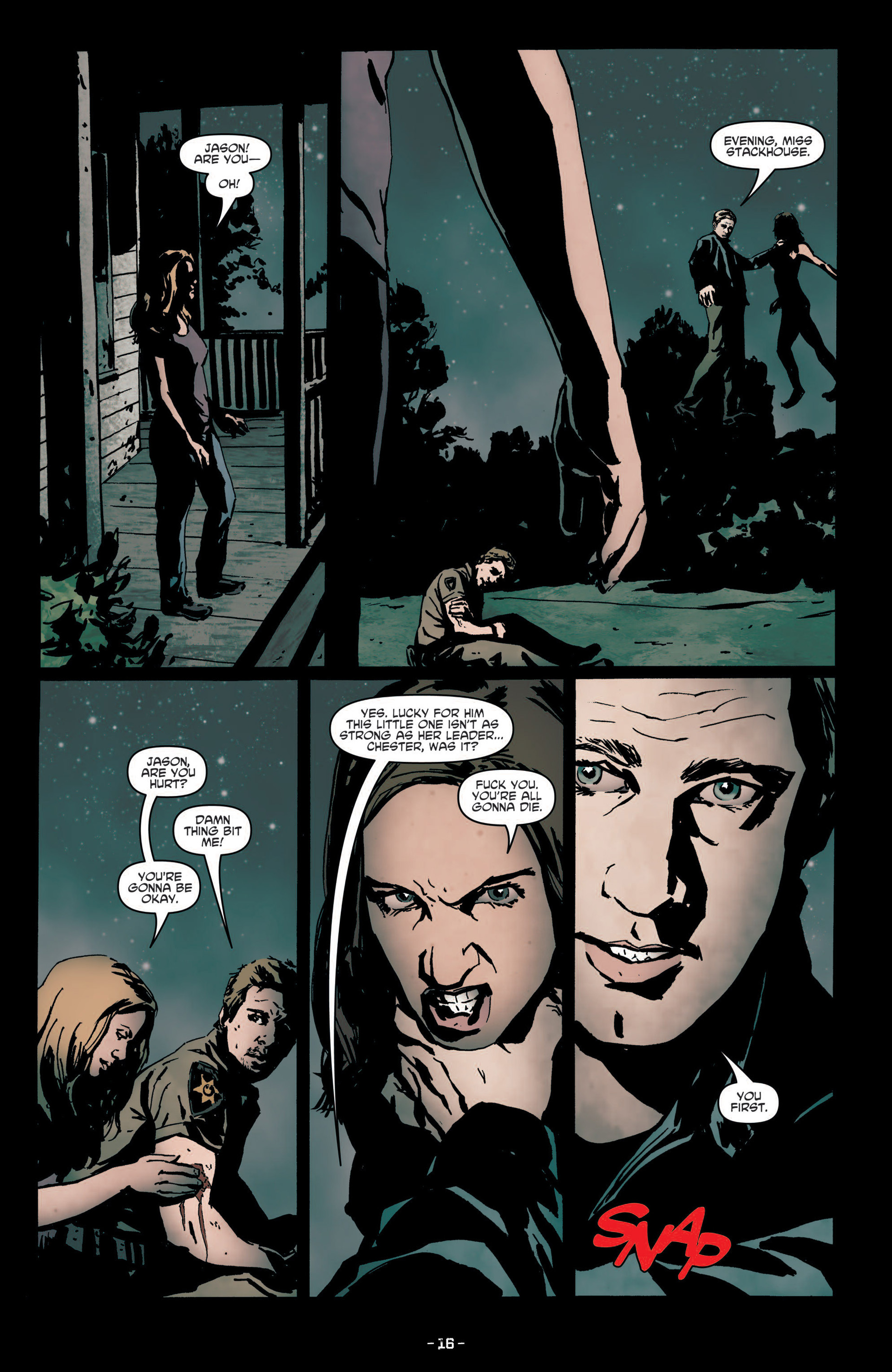 Read online True Blood (2012) comic -  Issue #7 - 18