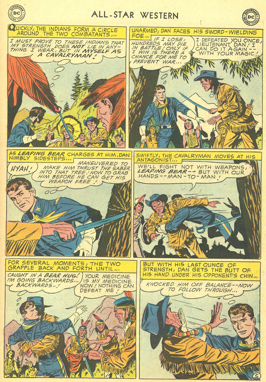 Read online All-Star Western (1951) comic -  Issue #92 - 23