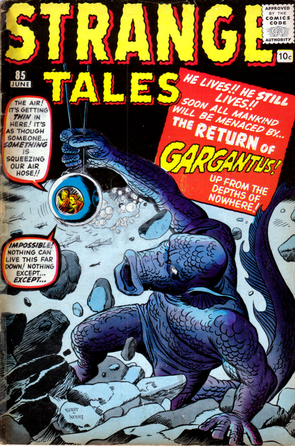 Strange Tales (1951) issue 85 - Page 1