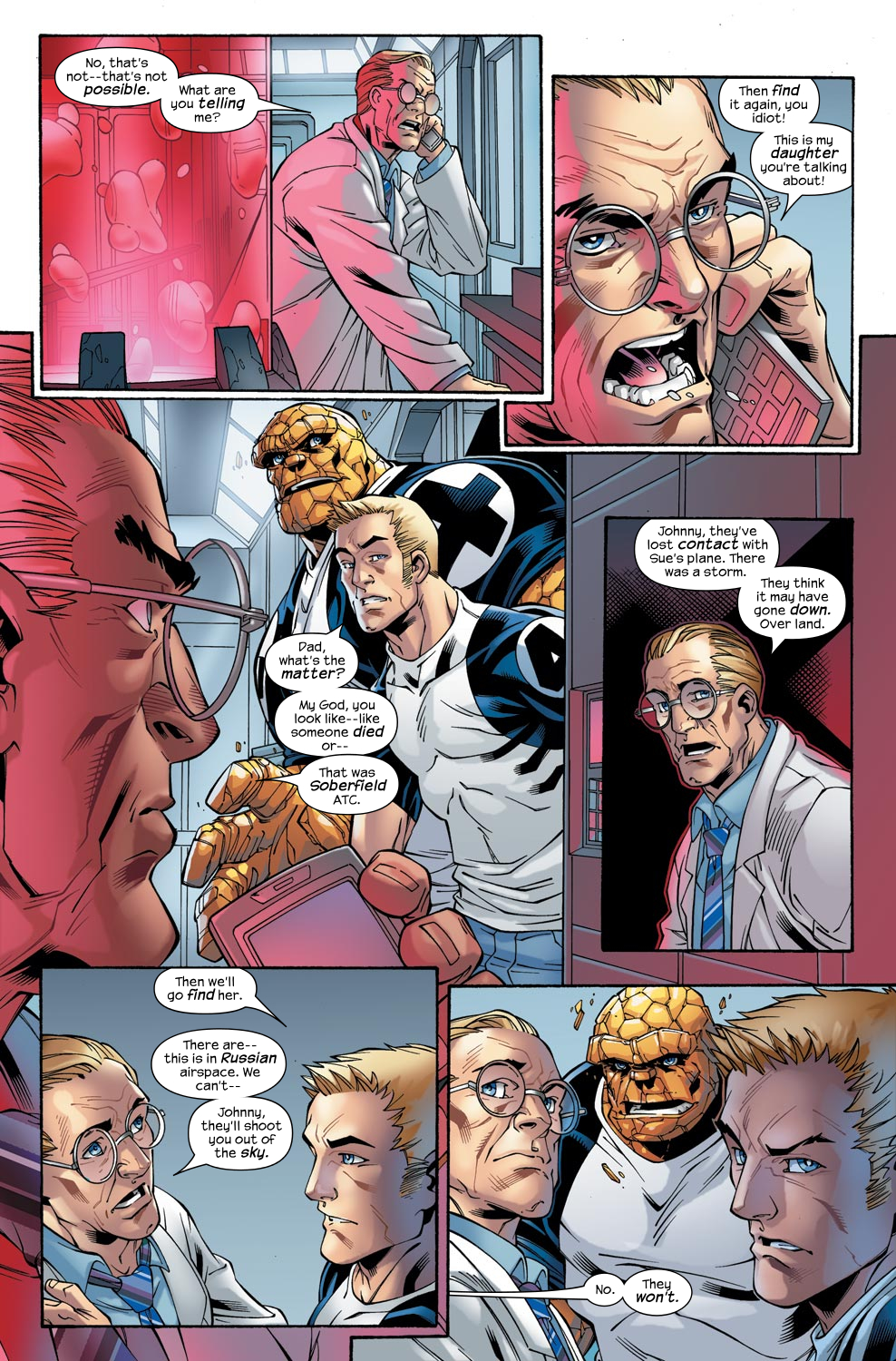Read online Ultimate Fantastic Four (2004) comic -  Issue #47 - 22