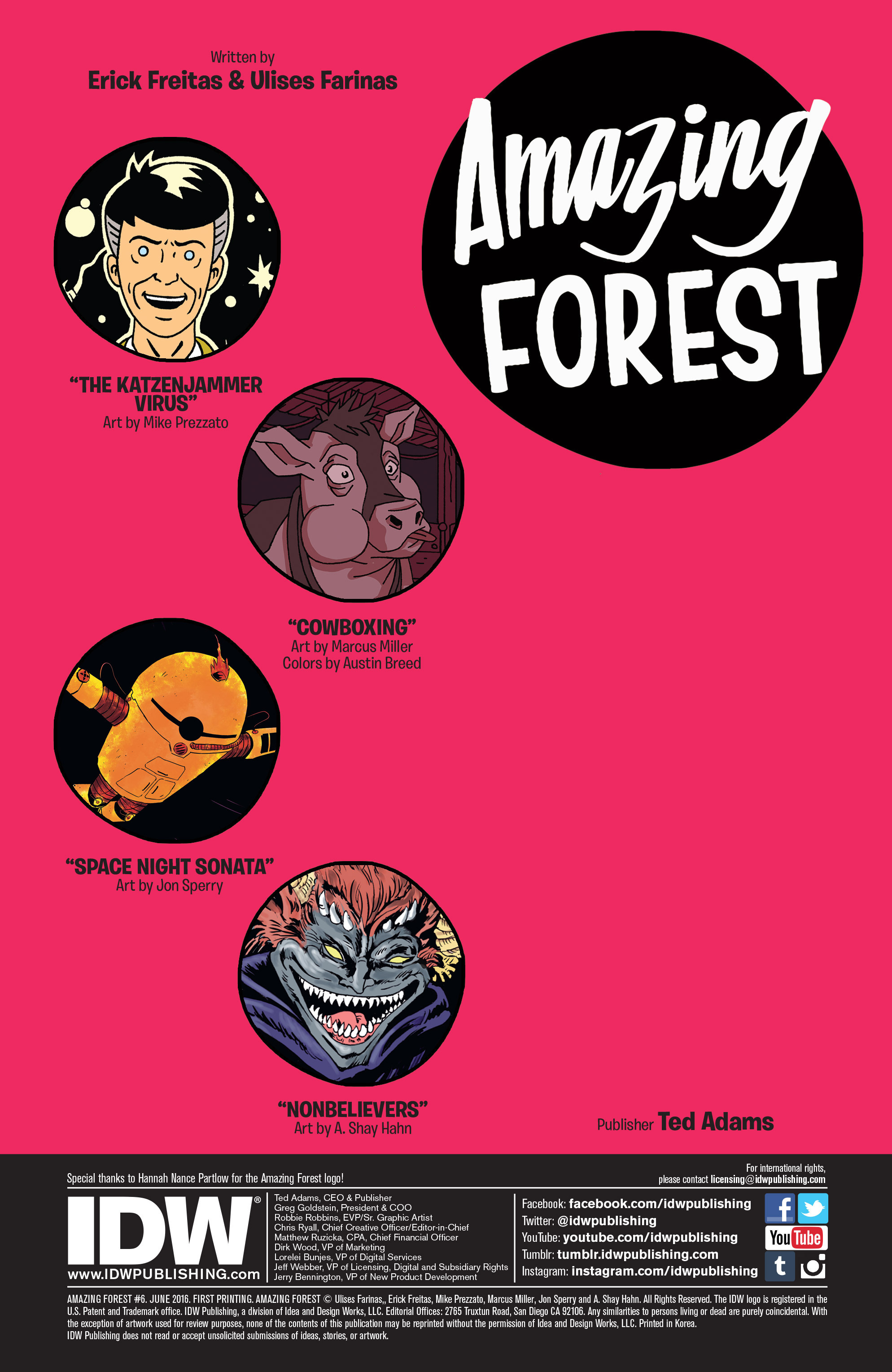 Read online Amazing Forest (2016) comic -  Issue #6 - 2
