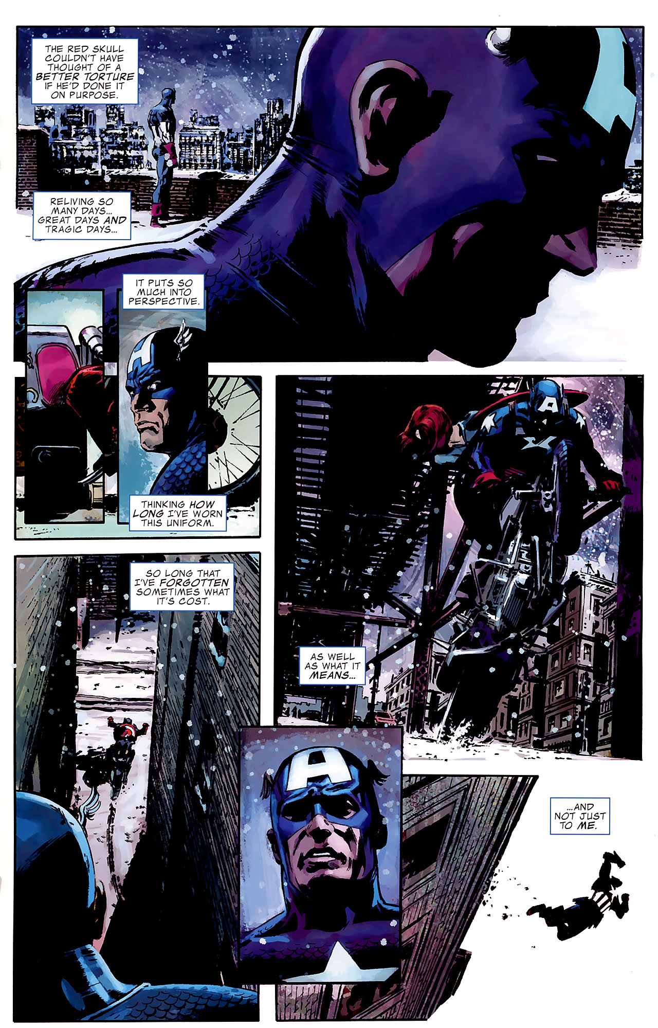 Read online Captain America Reborn: Who Will Wield the Shield? comic -  Issue # Full - 15