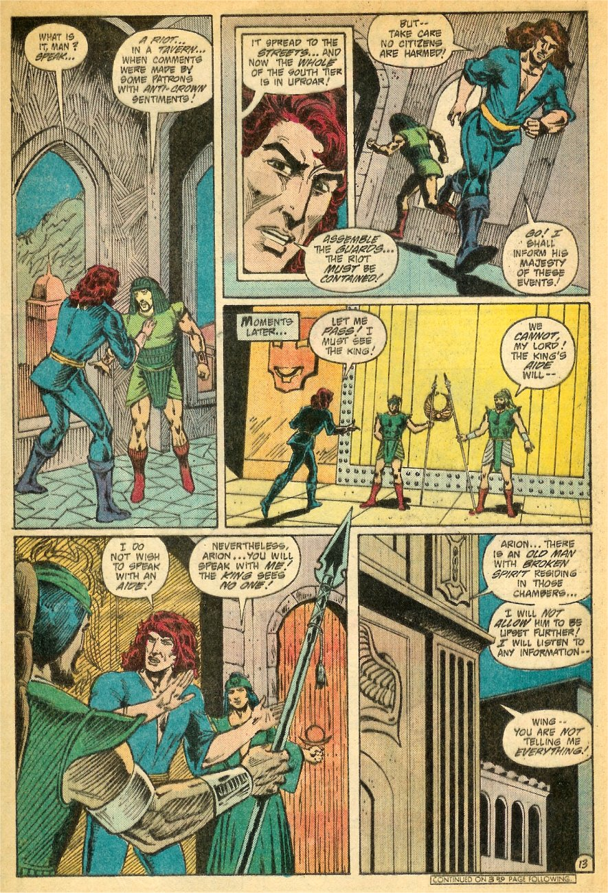 Read online Arion, Lord of Atlantis comic -  Issue #26 - 14