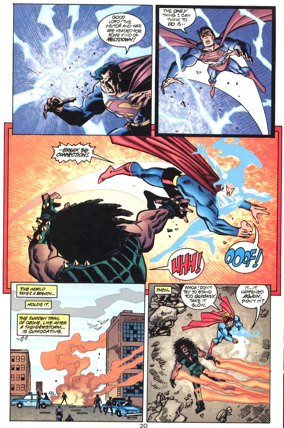 Read online Adventures of Superman (1987) comic -  Issue #572 - 21