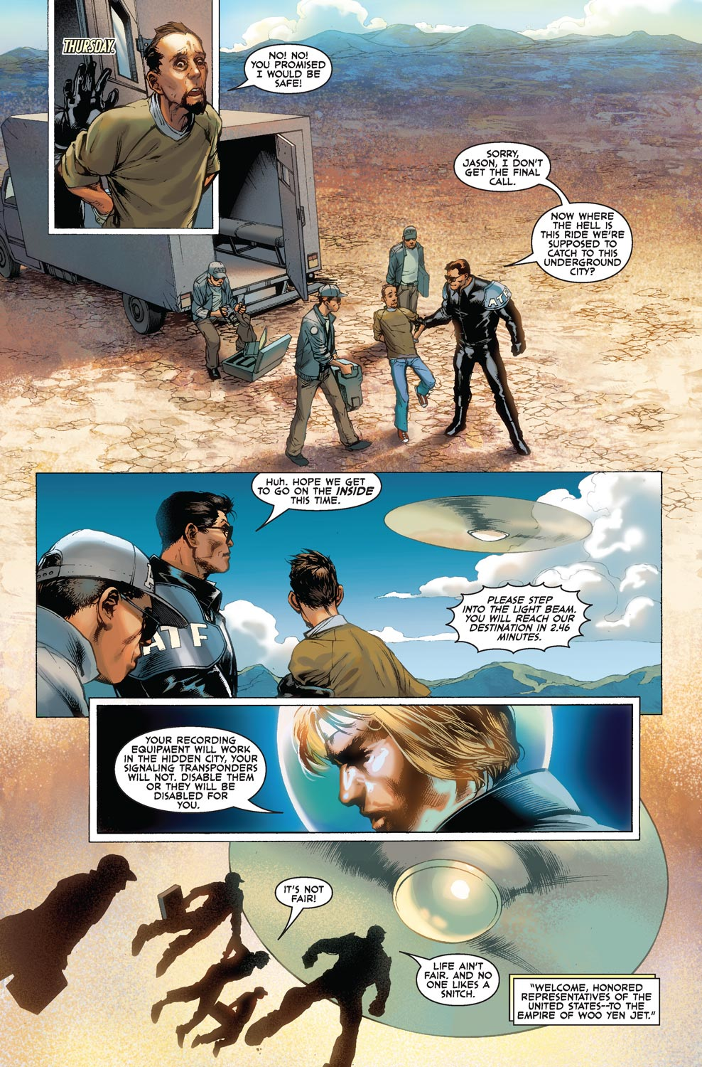 Read online Agents Of Atlas (2009) comic -  Issue #1 - 16