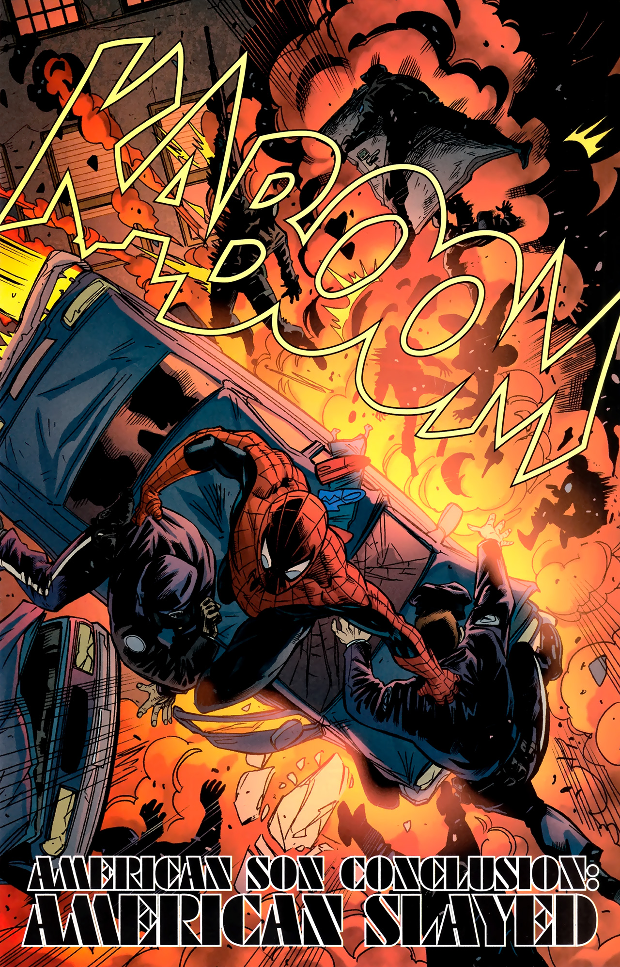 Read online Amazing Spider-Man Presents: American Son comic -  Issue #4 - 4