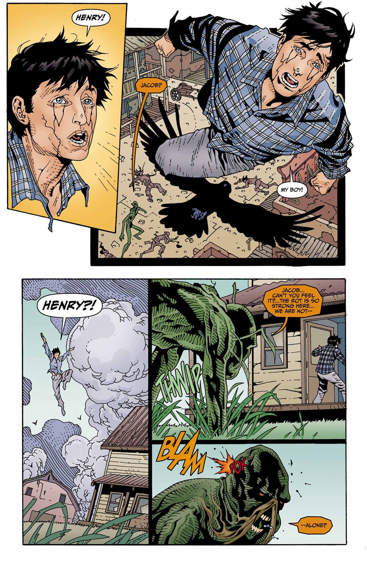 Read online Animal Man (2011) comic -  Issue #Animal Man (2011) _Annual 1 - 30
