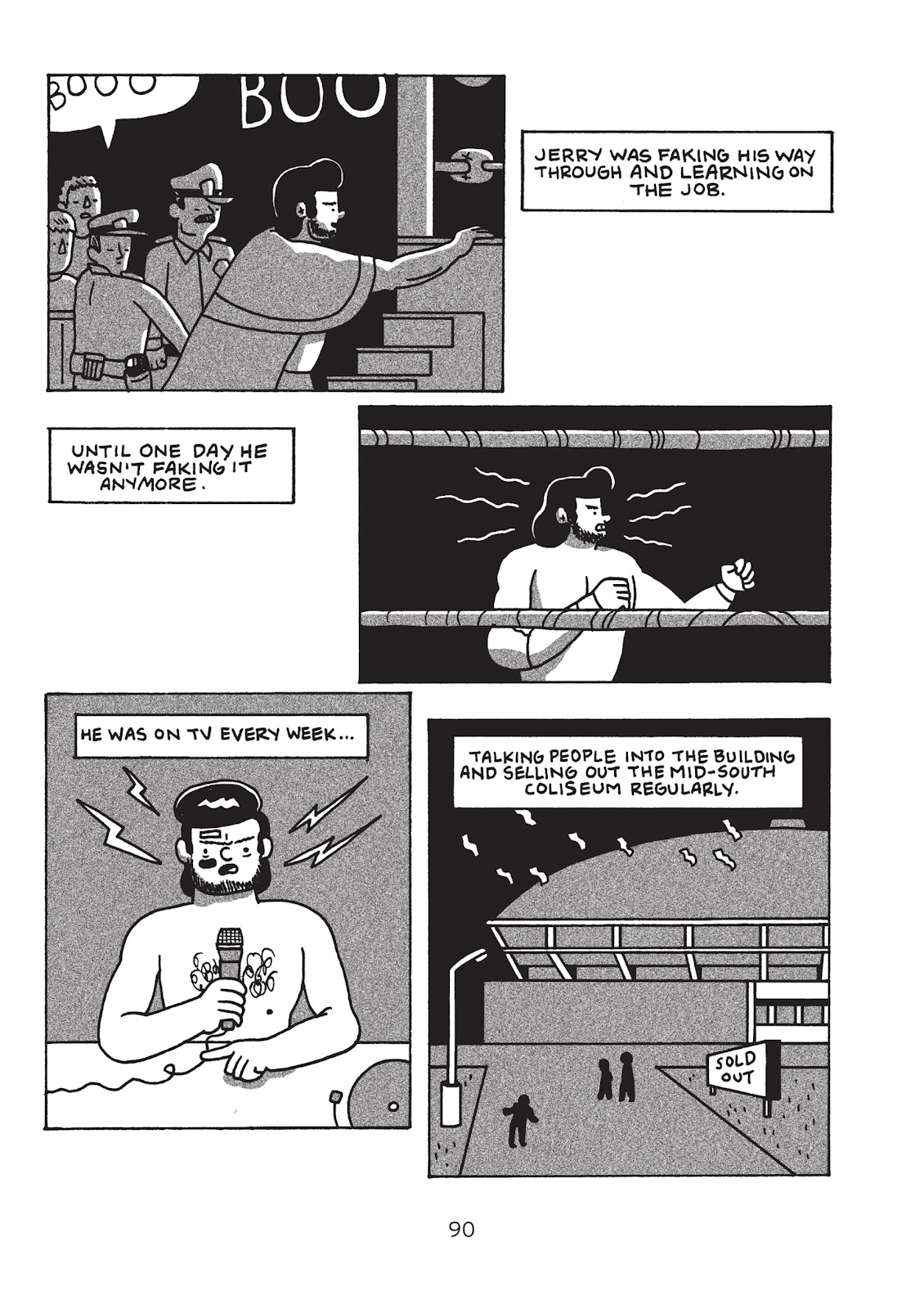 Read online Is This Guy For Real?: The Unbelievable Andy Kaufman comic -  Issue # TPB (Part 1) - 95