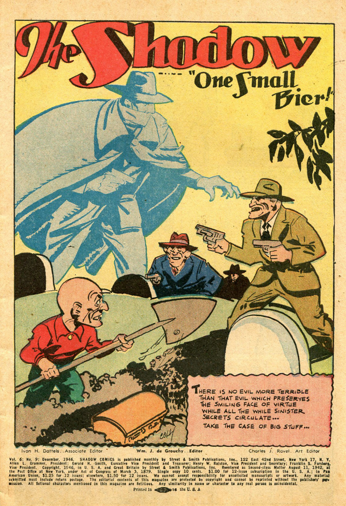 Read online Shadow Comics comic -  Issue #69 - 3