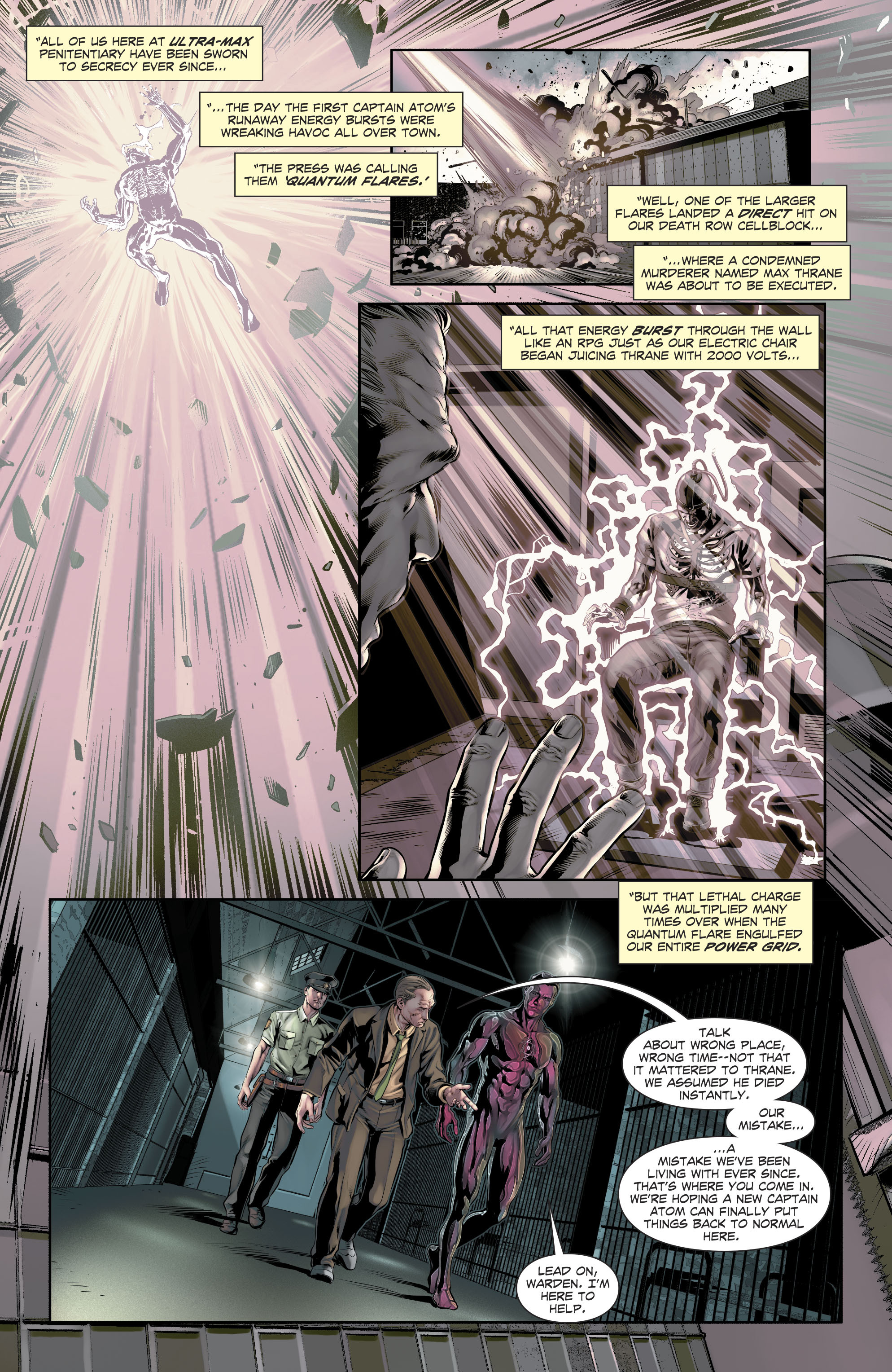 Read online The Fall and Rise of Captain Atom comic -  Issue #4 - 13