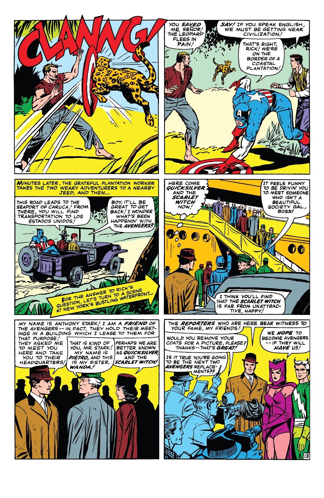 Read online Marvel Tales: Avengers comic -  Issue # Full - 18