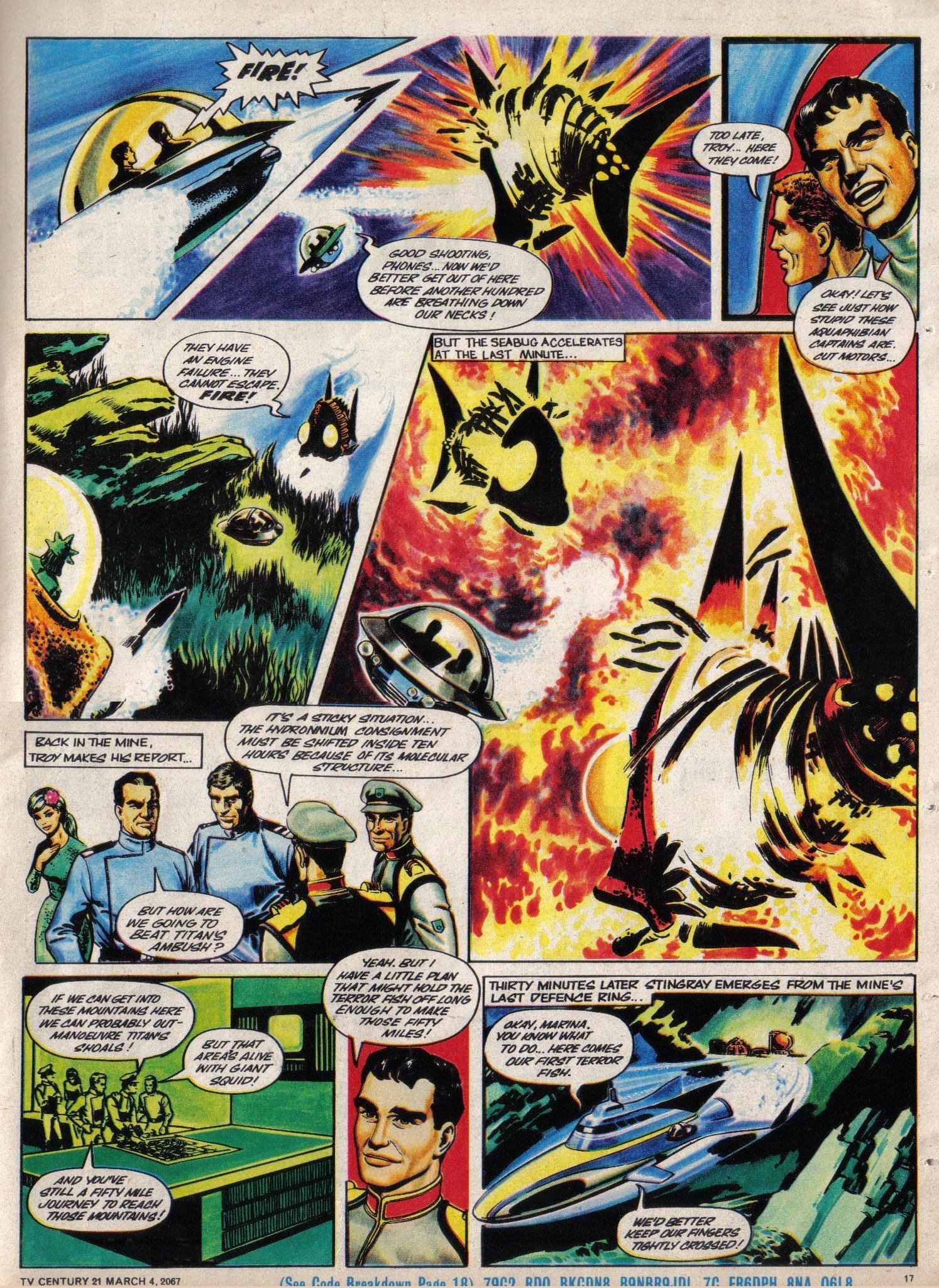 Read online TV Century 21 (TV 21) comic -  Issue #111 - 16