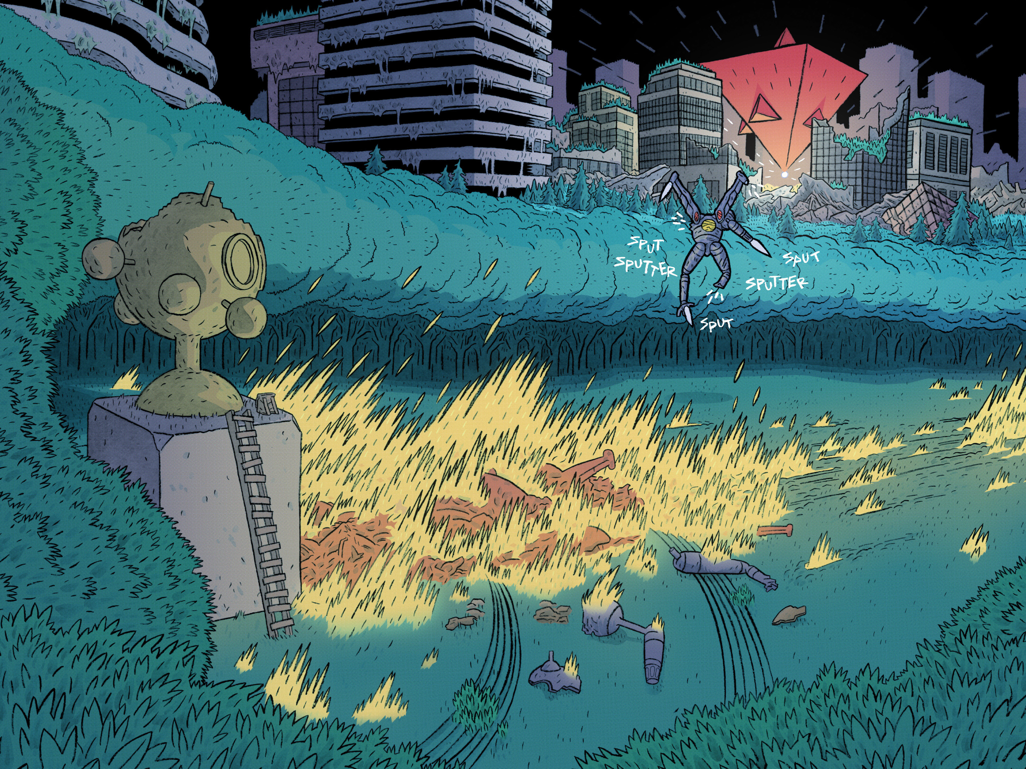 Read online ApocalyptiGirl: An Aria for the End Times comic -  Issue #ApocalyptiGirl: An Aria for the End Times Full - 86
