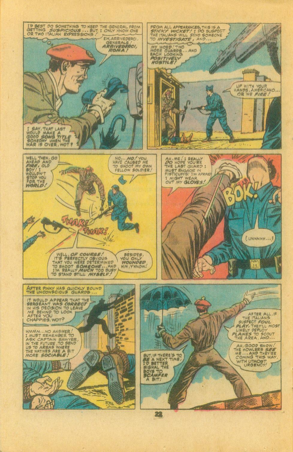 Read online Sgt. Fury comic -  Issue #132 - 24