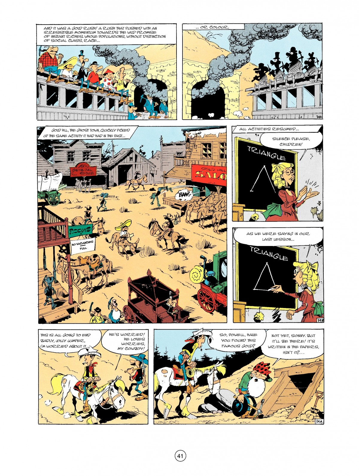 Read online A Lucky Luke Adventure comic -  Issue #2 - 43