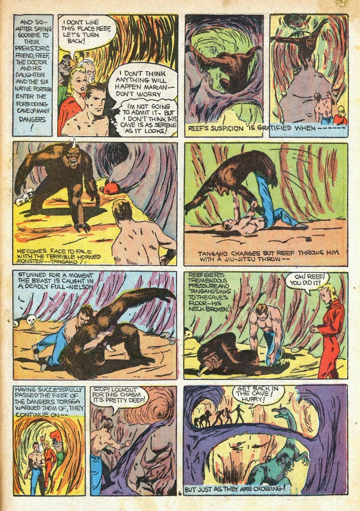 Read online Amazing Man Comics comic -  Issue #16 - 57