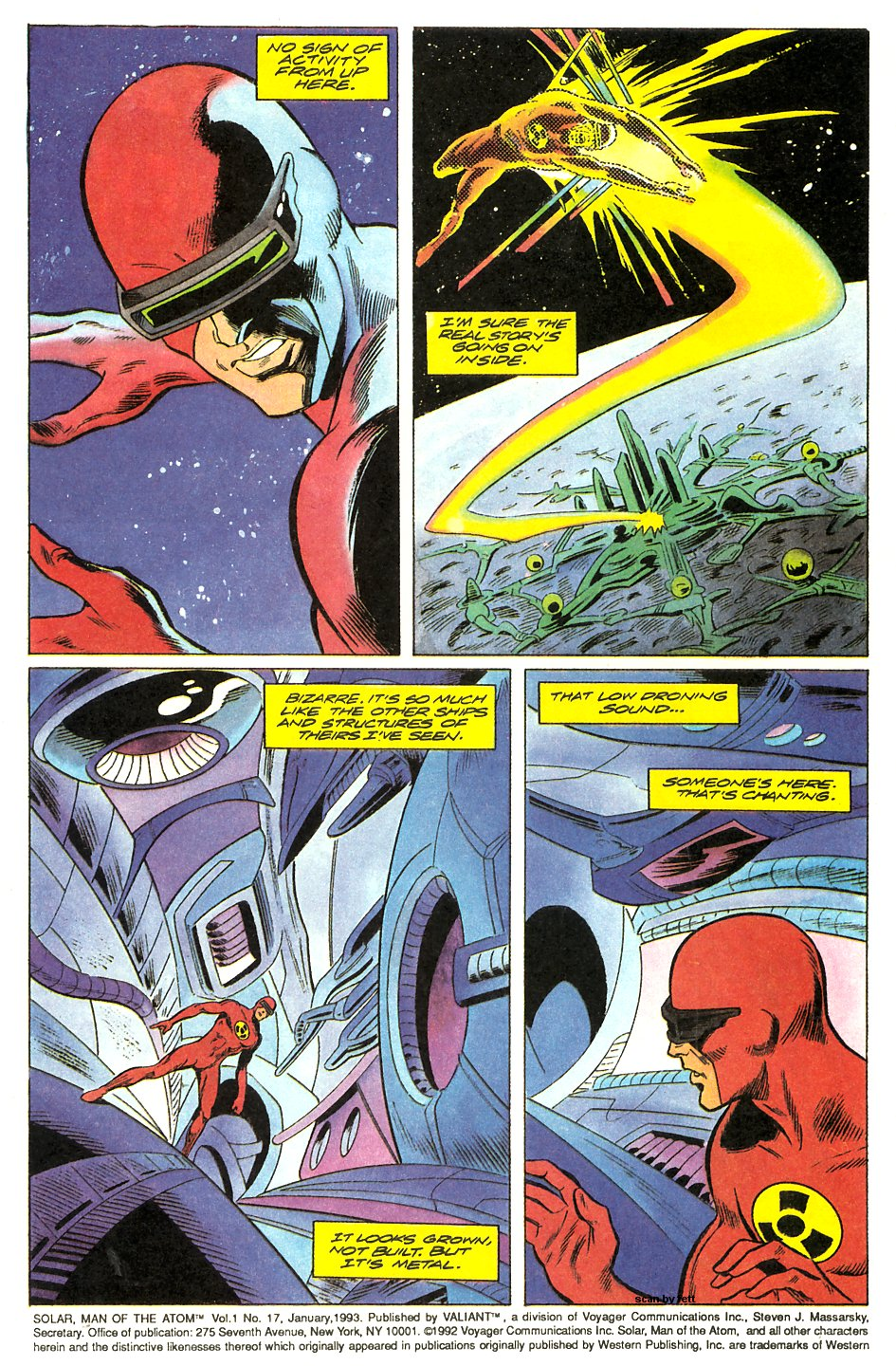 Read online Solar, Man of the Atom comic -  Issue #17 - 4