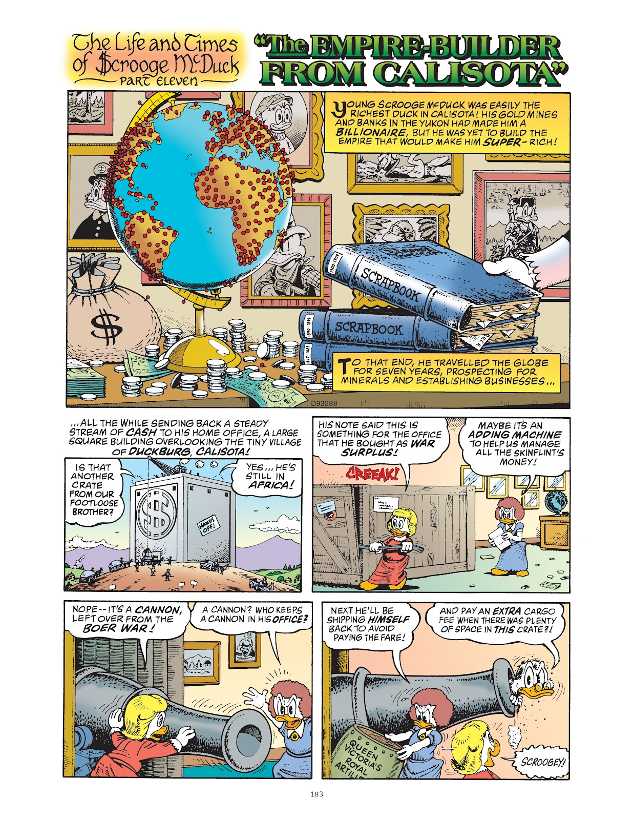 Read online The Complete Life and Times of Scrooge McDuck comic -  Issue # TPB 1 (Part 2) - 78