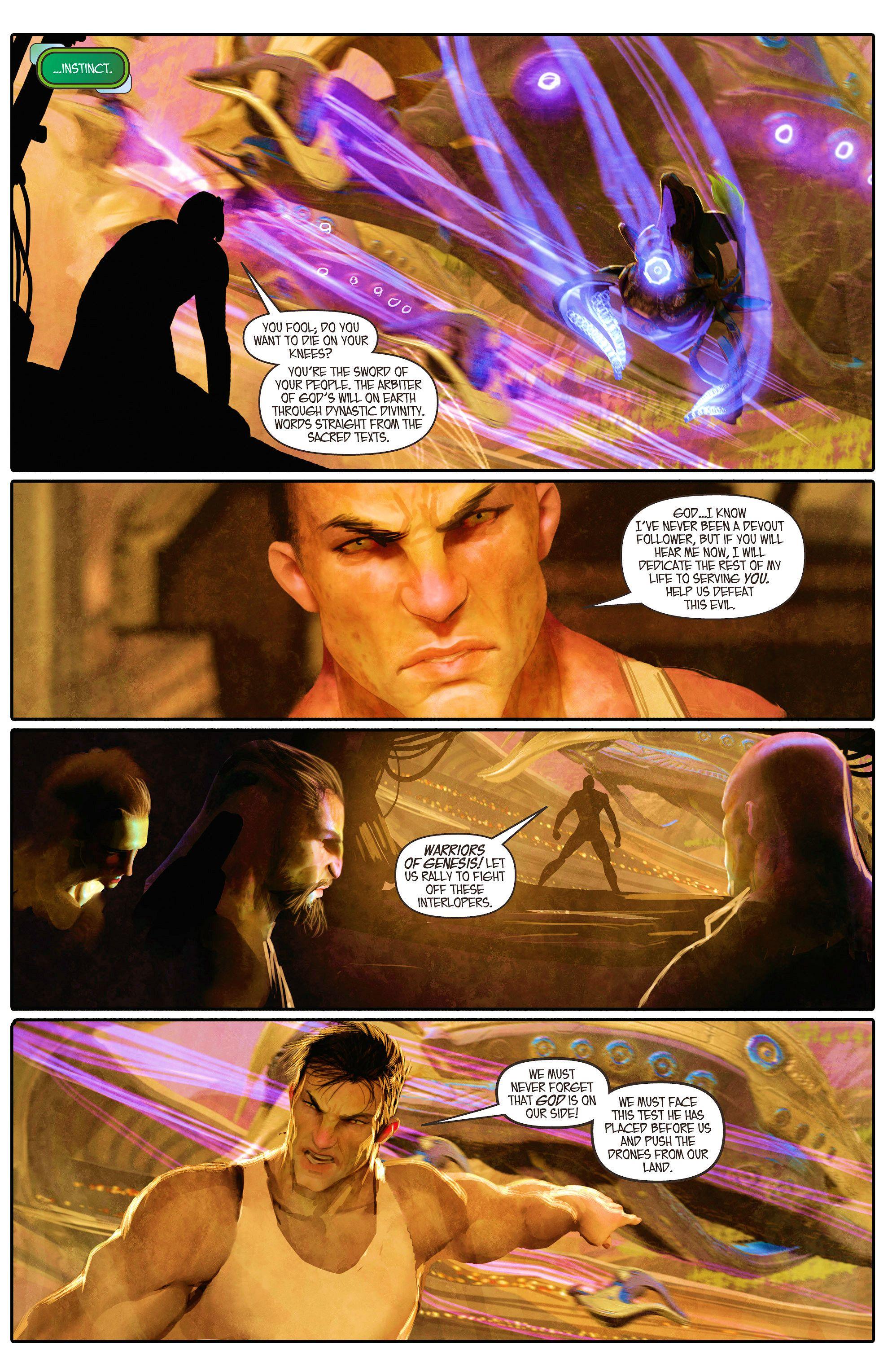 Read online Aphrodite IX (2013) comic -  Issue #5 - 9