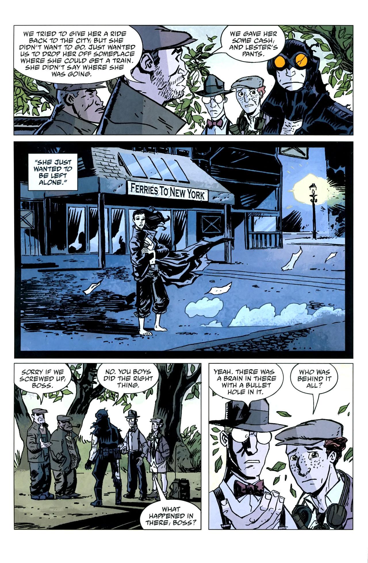 Read online Lobster Johnson: The Iron Prometheus comic -  Issue #5 - 25
