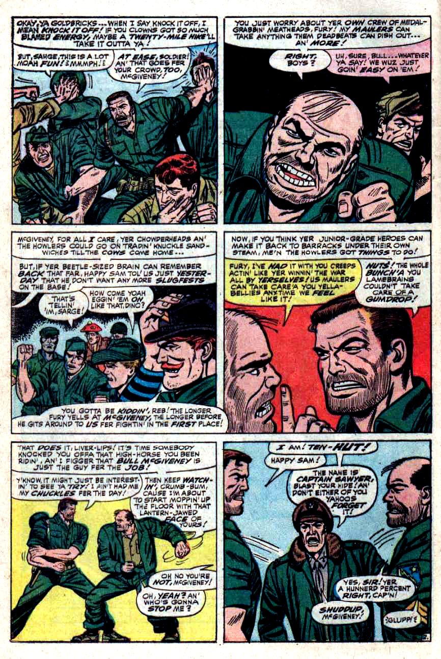 Read online Sgt. Fury comic -  Issue #33 - 4
