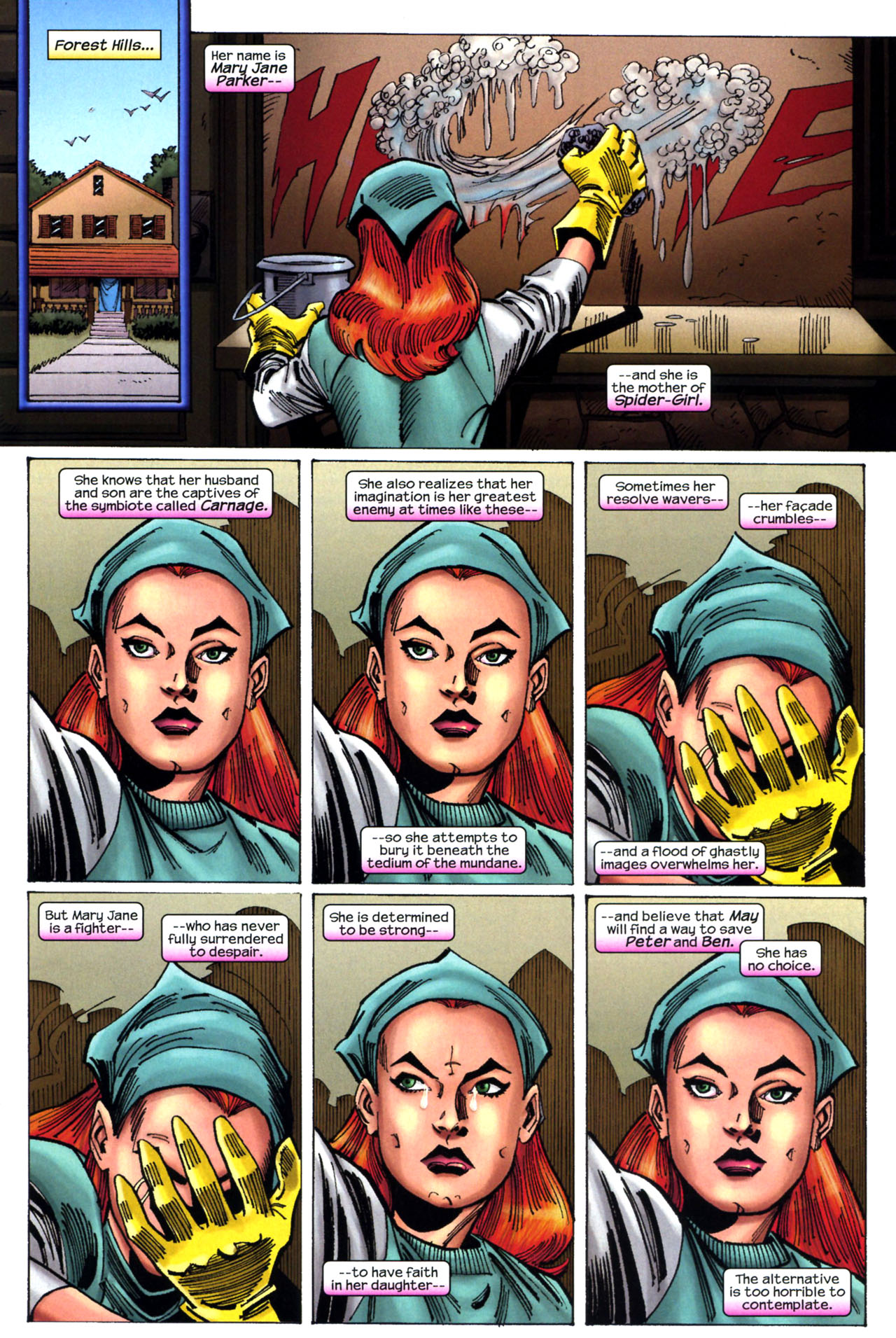 Read online Amazing Spider-Girl comic -  Issue #11 - 4