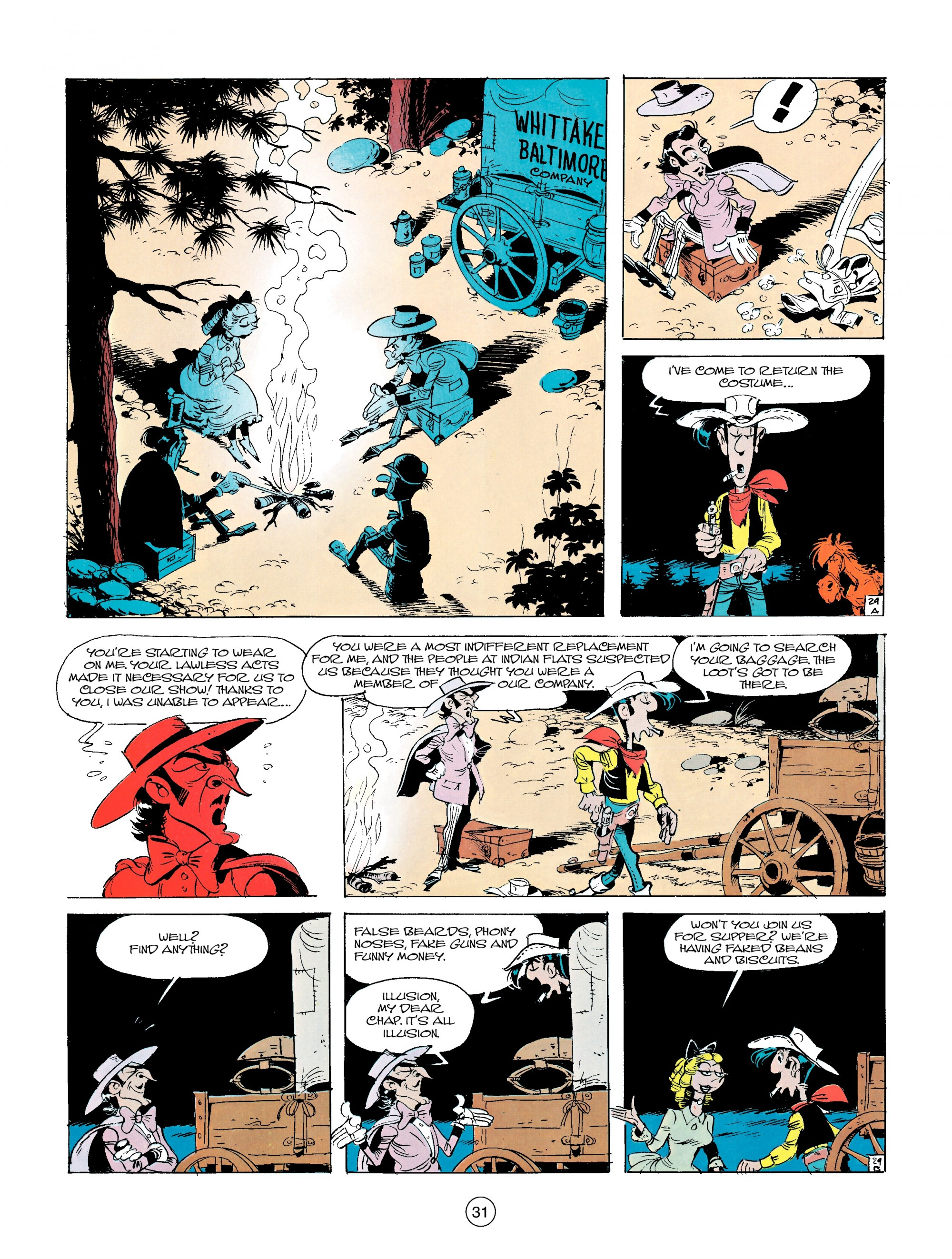 Read online A Lucky Luke Adventure comic -  Issue #14 - 31