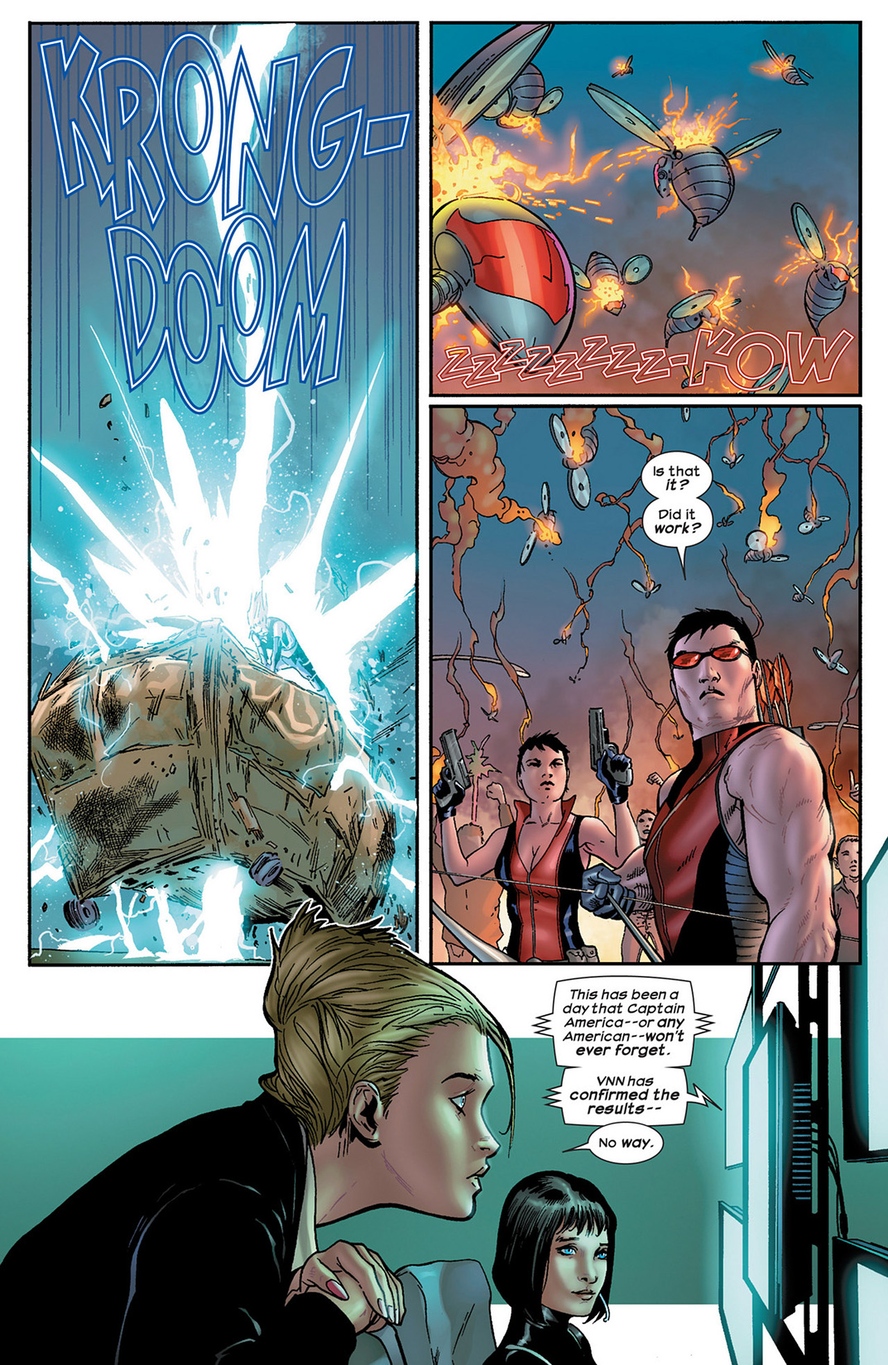 Read online Ultimate Comics Ultimates comic -  Issue #15 - 21