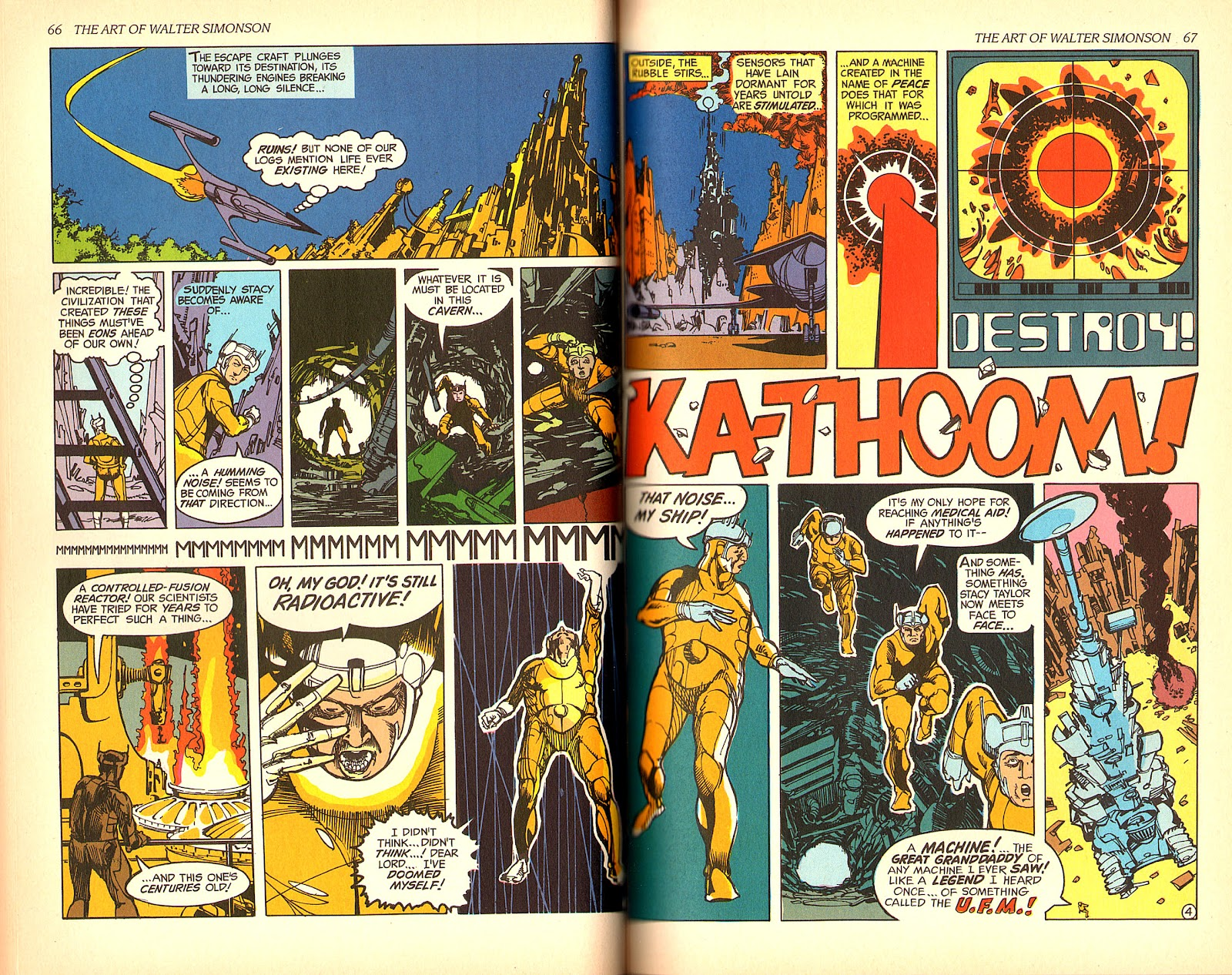Read online The Art of Walter Simonson comic -  Issue # TPB - 35