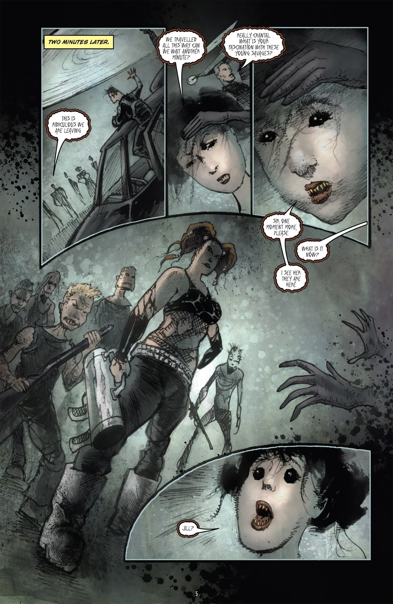 Read online 30 Days of Night (2011) comic -  Issue #1 - 9