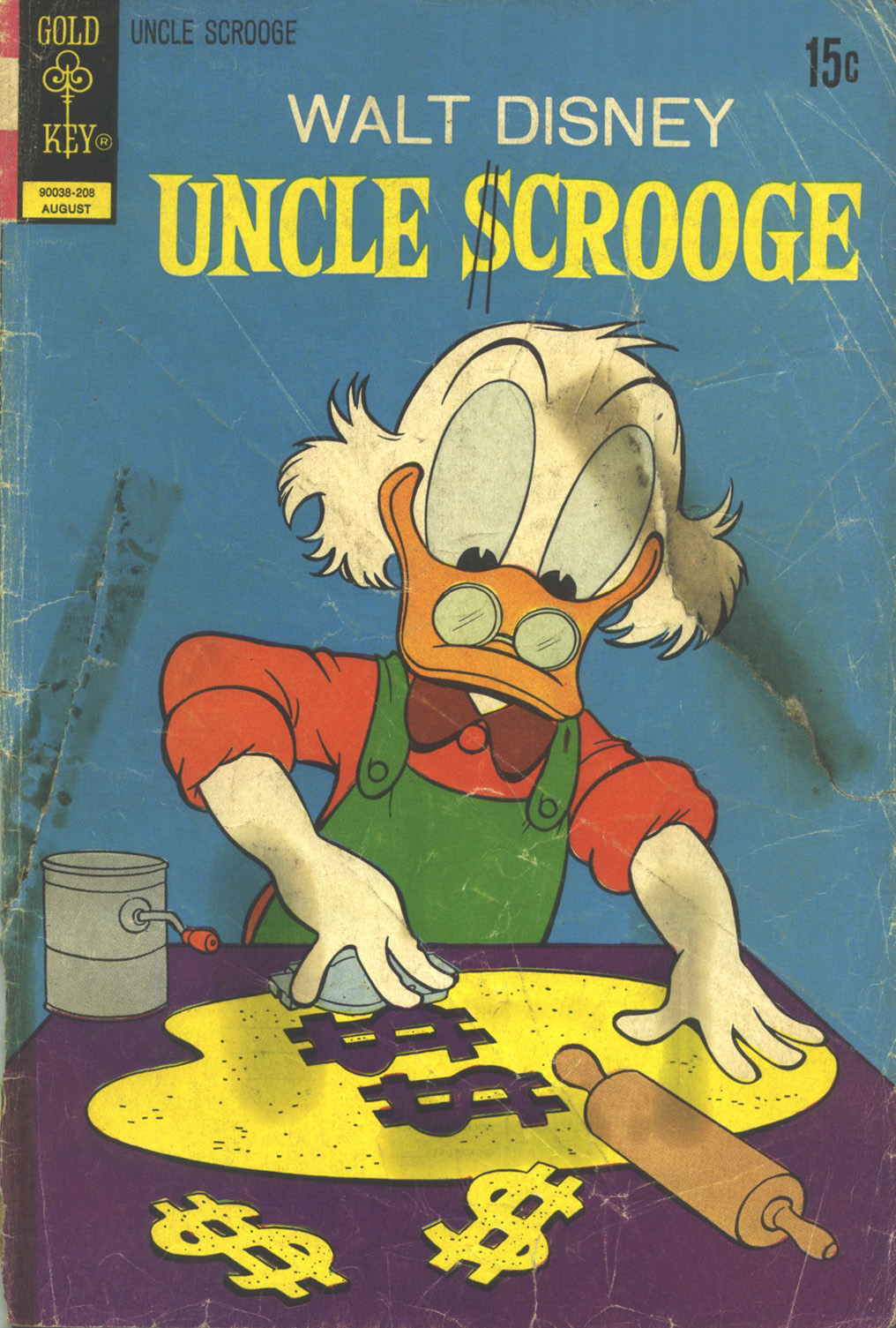 Read online Uncle Scrooge (1953) comic -  Issue #100 - 1