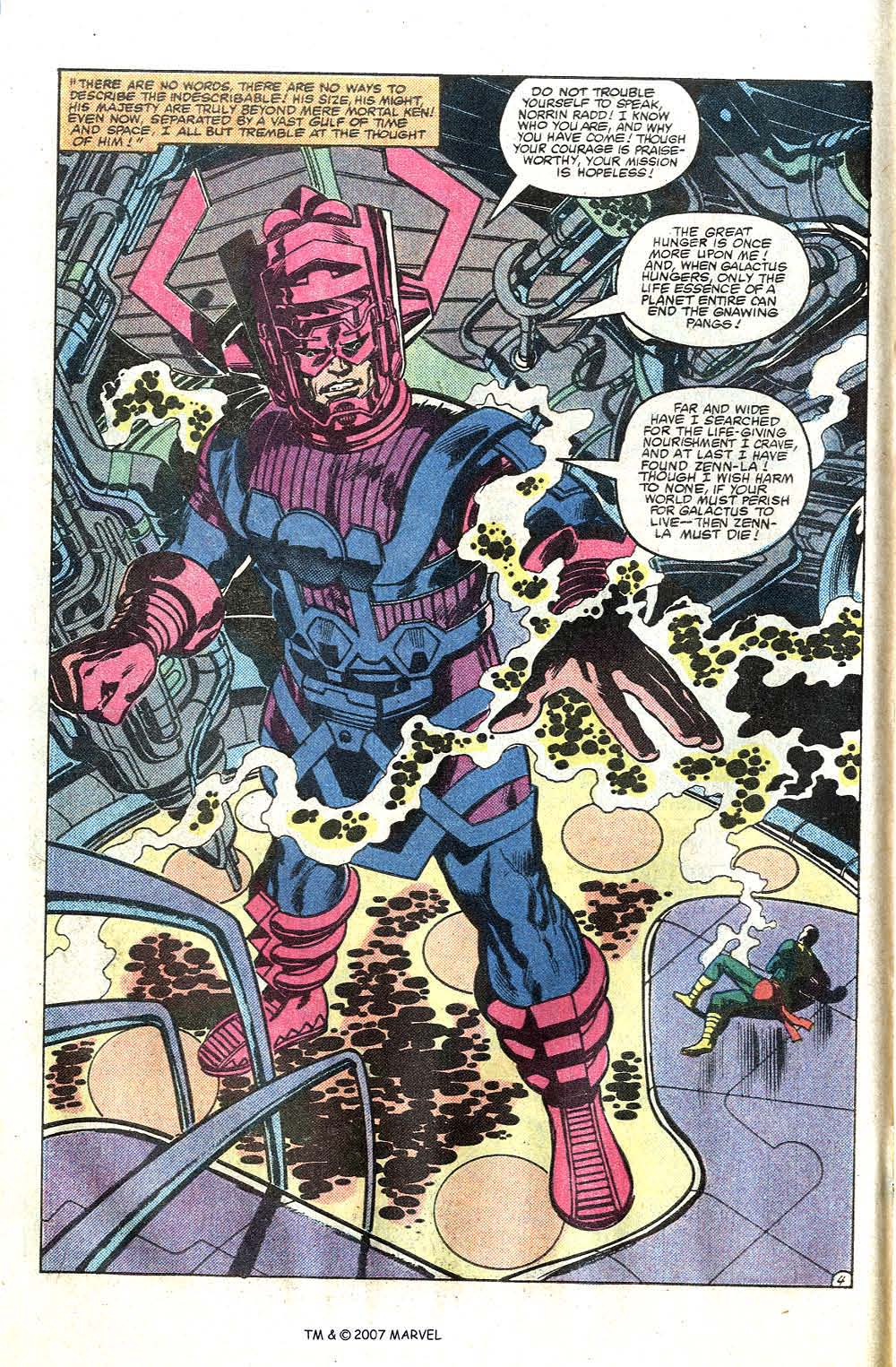 Read online Silver Surfer (1982) comic -  Issue # Full - 6