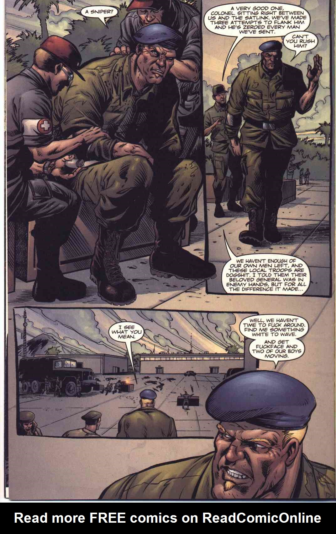 Read online Fury comic -  Issue #5 - 12