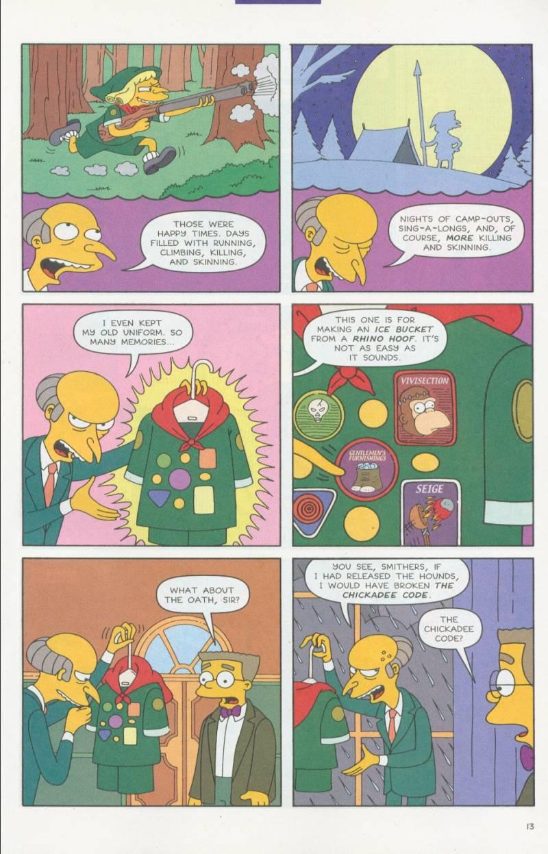Read online Simpsons Comics comic -  Issue #63 - 14