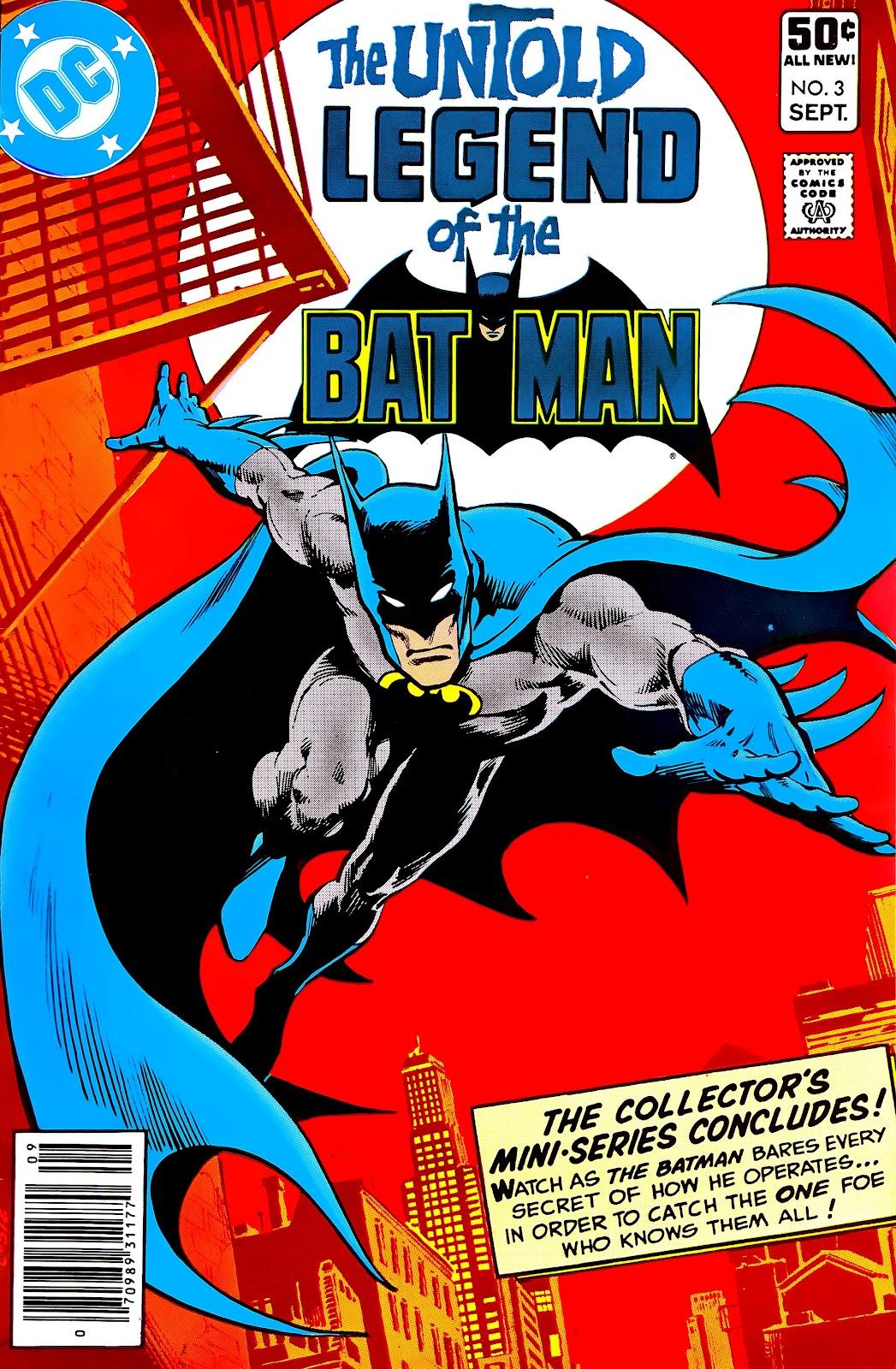 Untold Legend of the Batman 3 Page 1