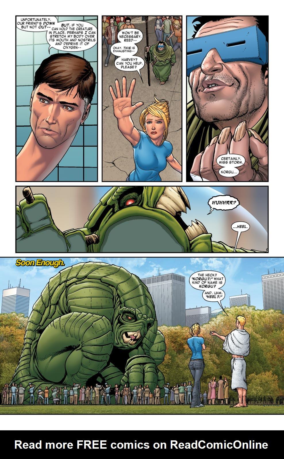 Read online Fantastic Four: Season One comic -  Issue # TPB - 53