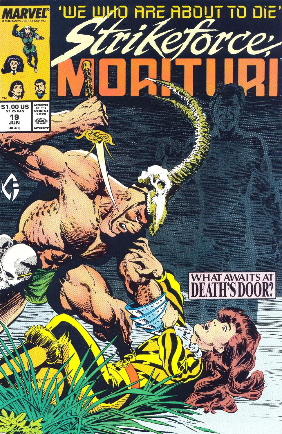 Strikeforce: Morituri 19 Page 1