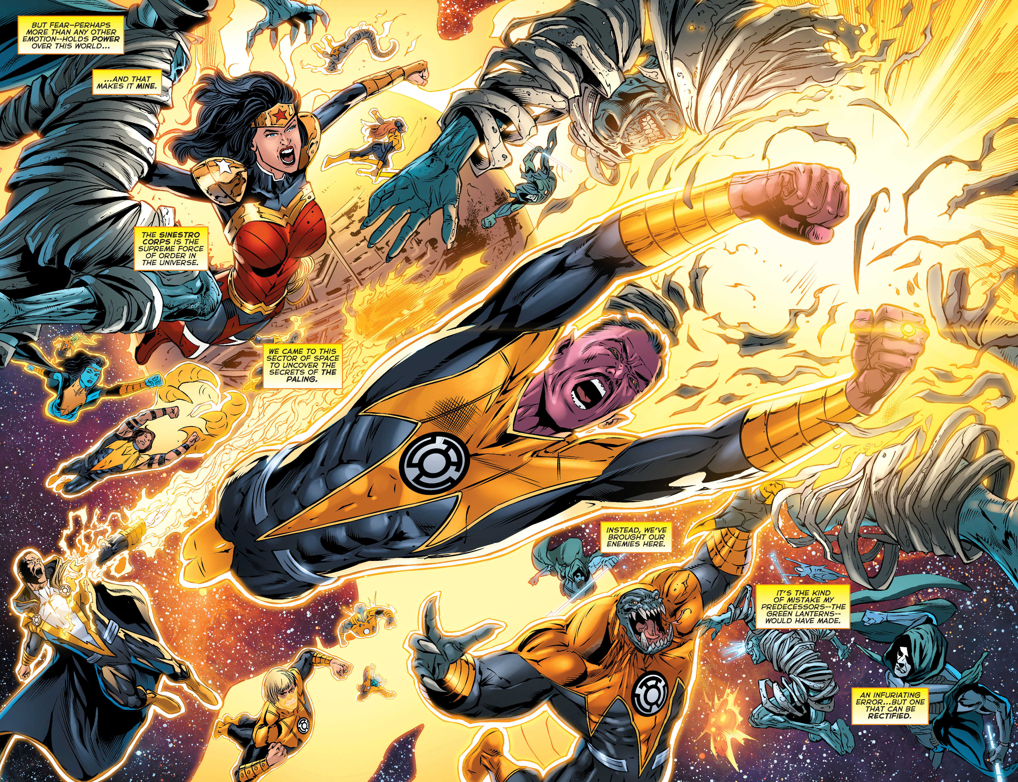 Read online Sinestro comic -  Issue #18 - 4