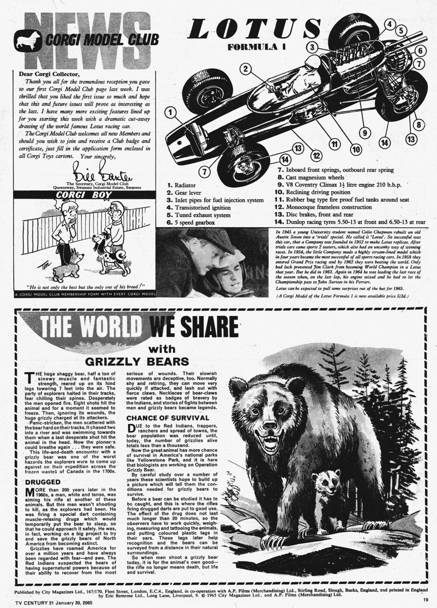 Read online TV Century 21 (TV 21) comic -  Issue #2 - 18