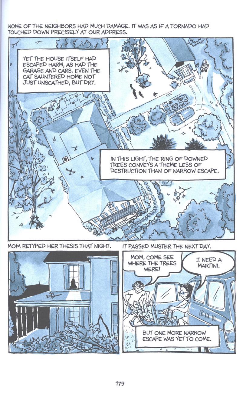 Read online Fun Home: A Family Tragicomic comic -  Issue # TPB - 185