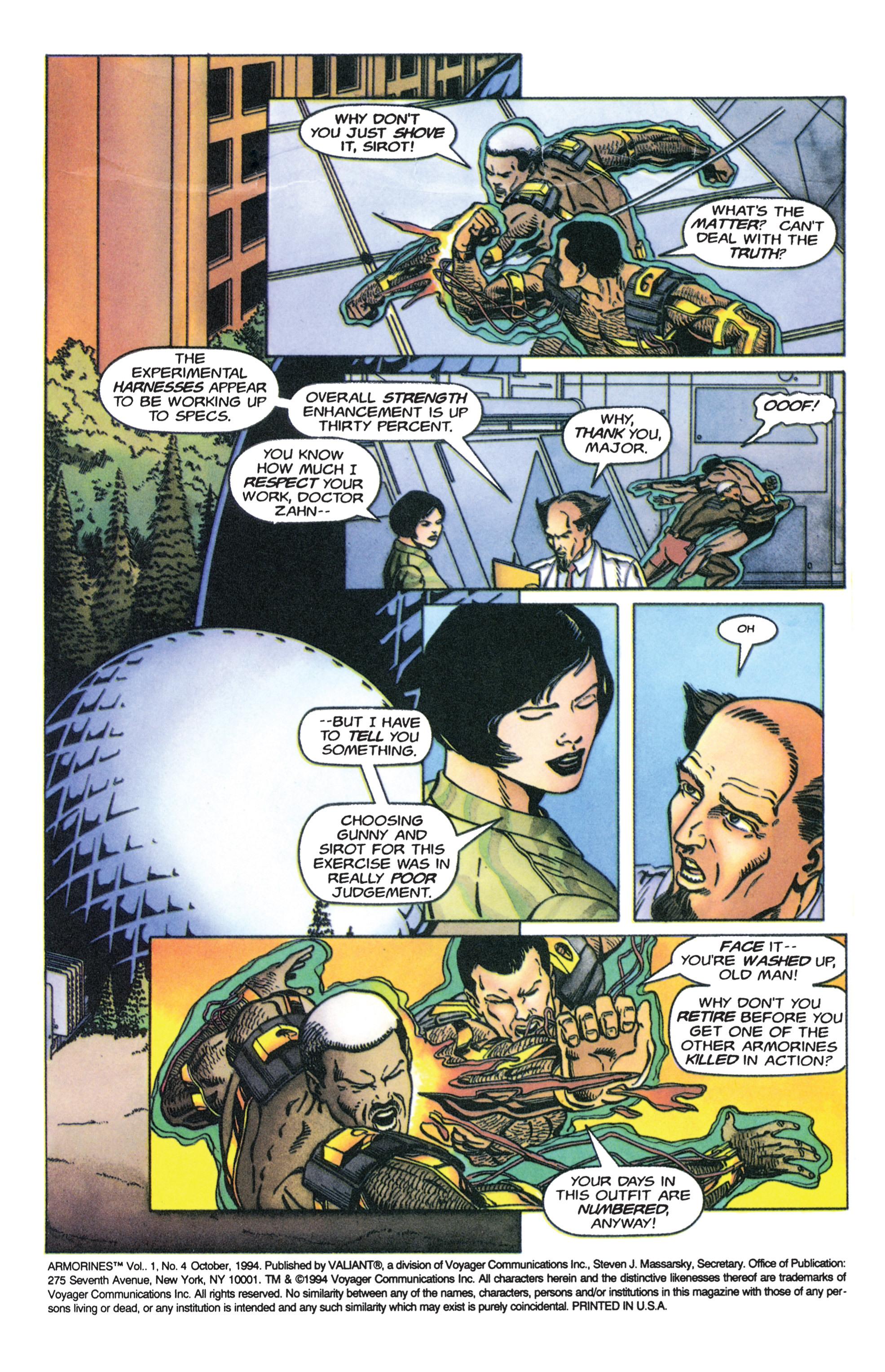 Read online Armorines comic -  Issue #4 - 3