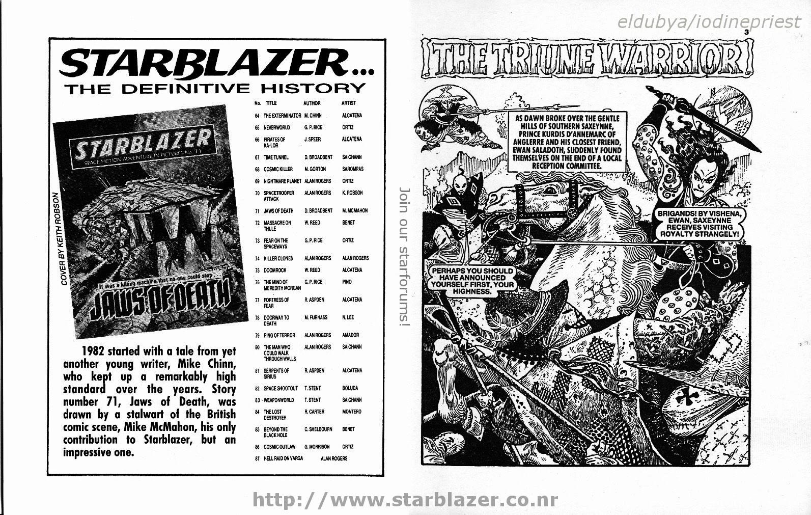 Starblazer issue 271 - Page 3