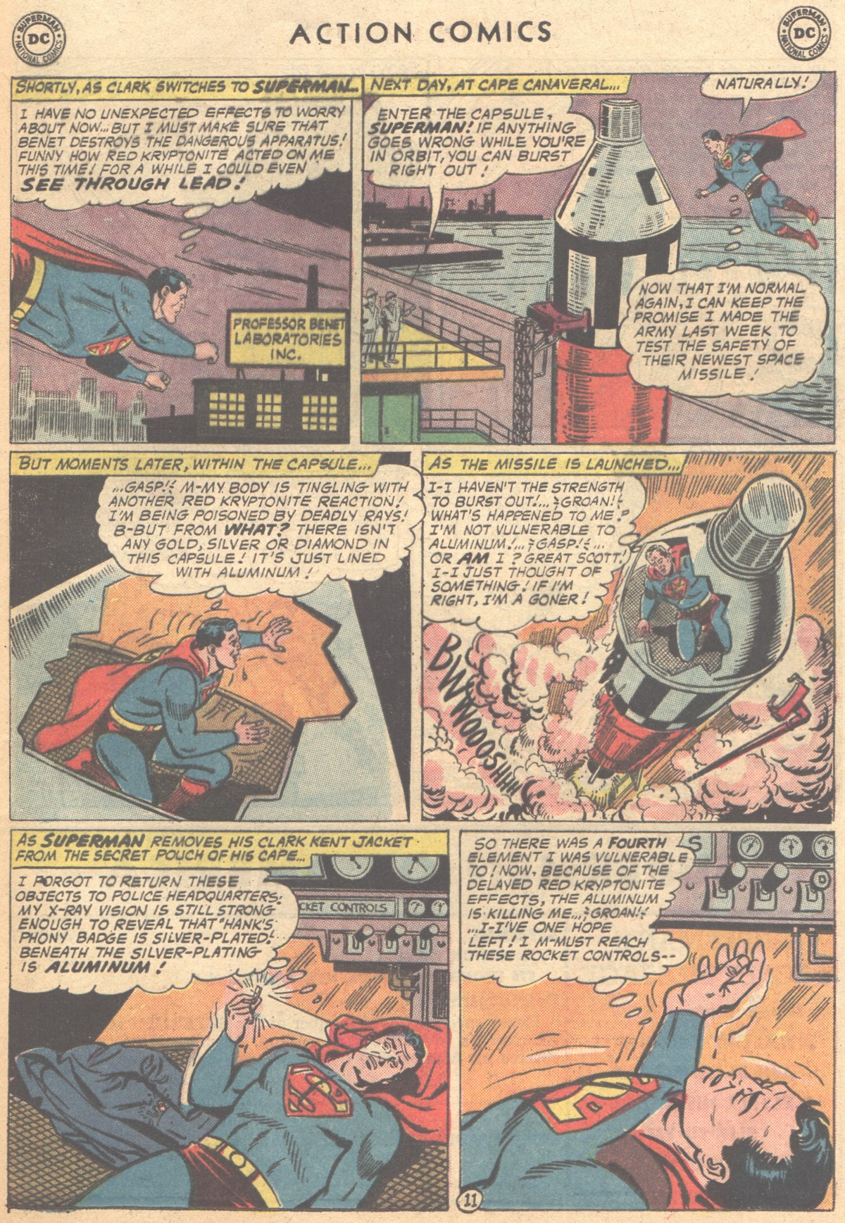 Read online Action Comics (1938) comic -  Issue #291 - 13