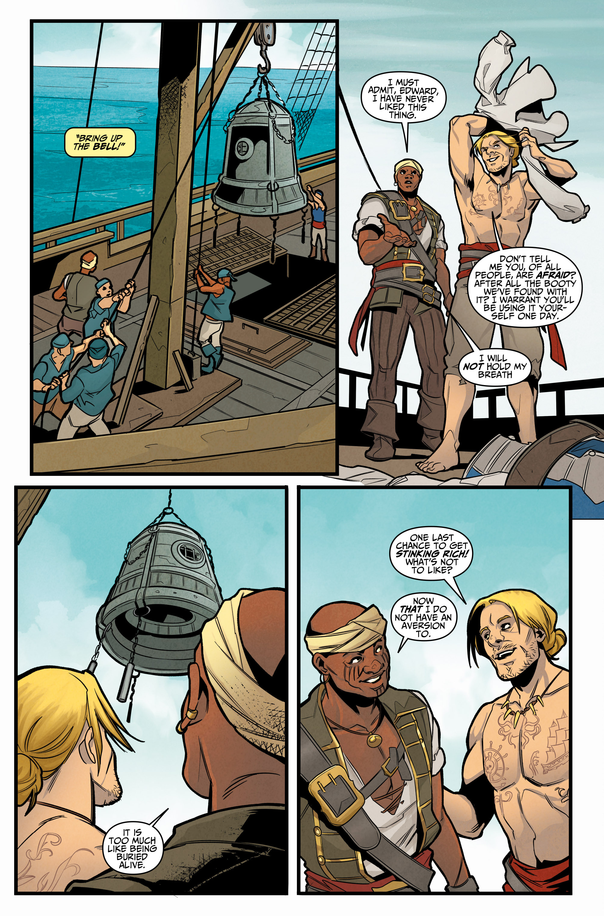 Read online Assassin's Creed: Reflections comic -  Issue #3 - 6